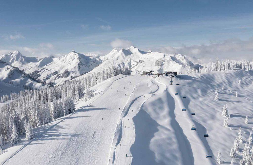 Pistas estación de esquí Saalbach-Hinterglemm