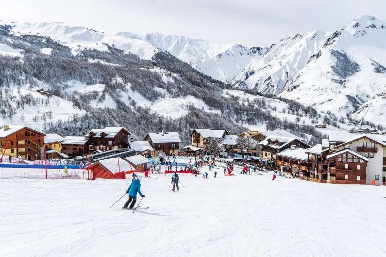 Saint Martin de belleville ski resort
