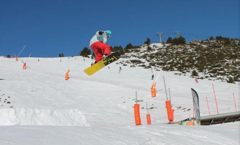 Snowboard Font Romeu