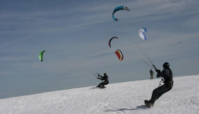 Snowkite estación esquí Markstein