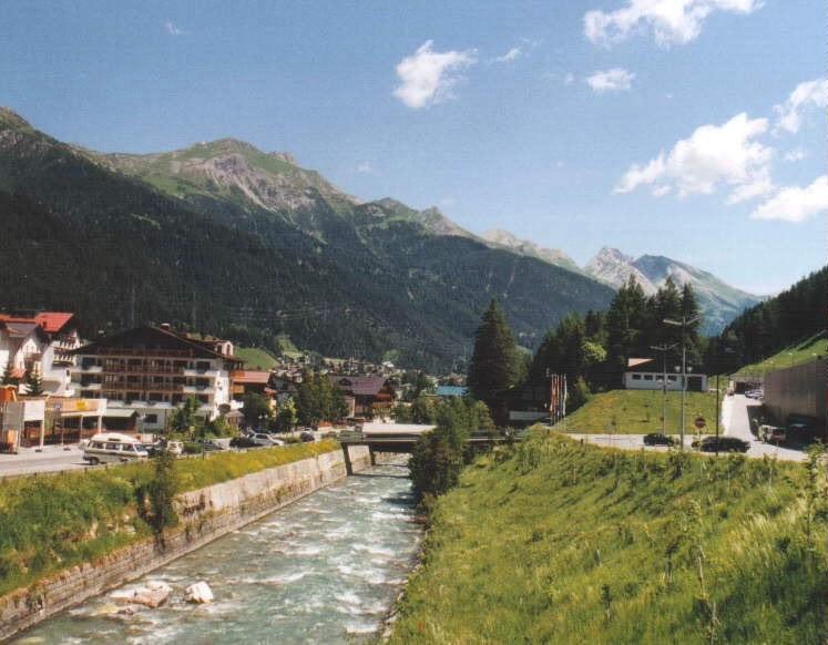 Pesca estación de esquí Saint Anton