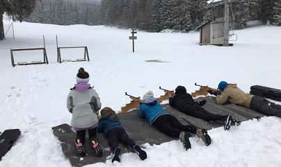 Tiro estación de esquí Hautville