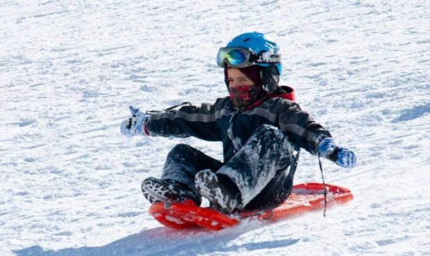 Trineo estación de esquí La Hoya