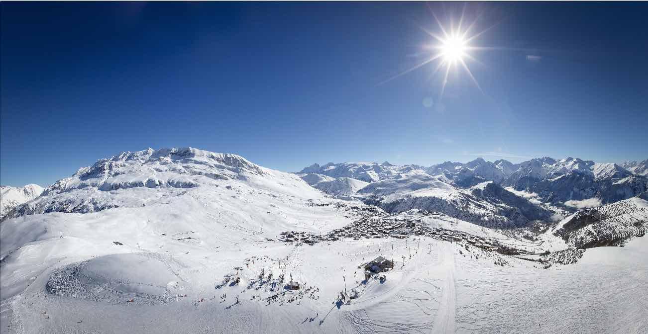 Alpe d'Huez ski resort