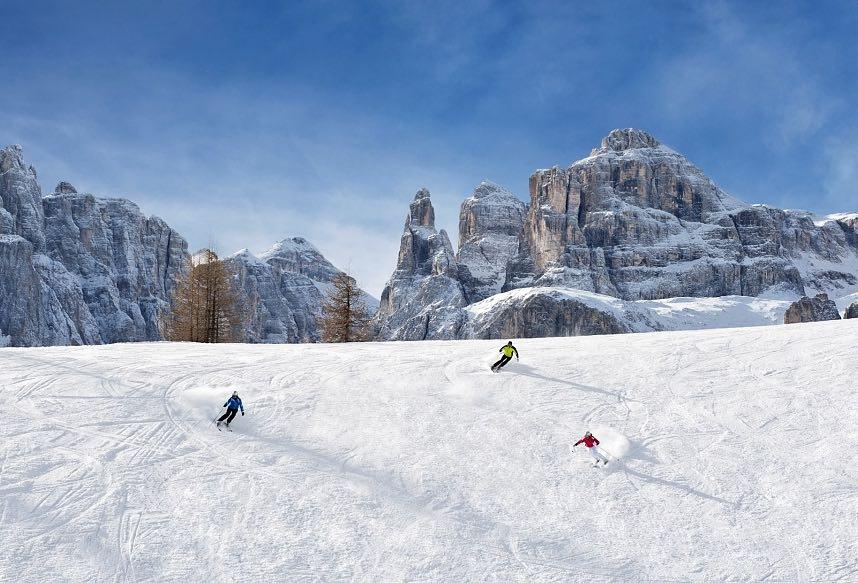 pistas estación de esquí Alta Badia