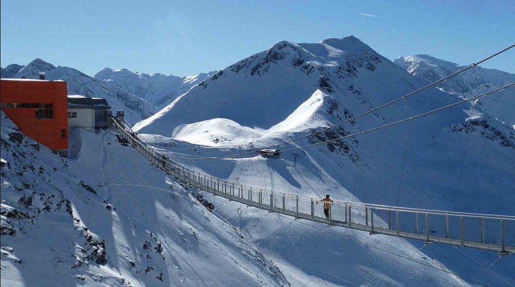 puente estación esquí bad gastein