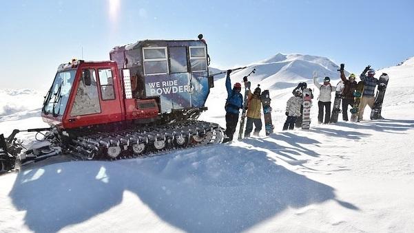 catskiing estación de esquí Nevados de Chillán