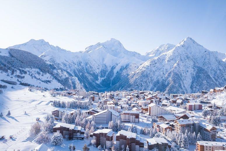 estación de esquí Les Deux Alpes