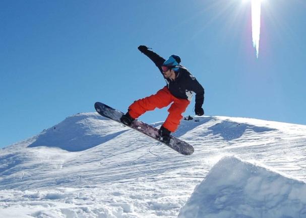 freestyle estación esquí Lagunillas