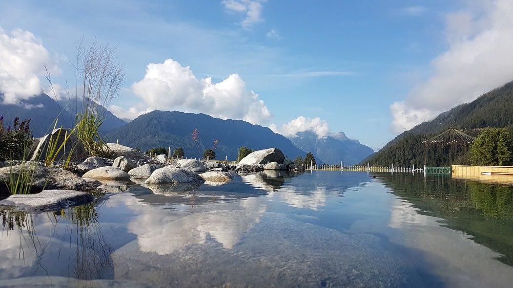 """Lago estación de esquí Serfaus-Fiss-Ladis"