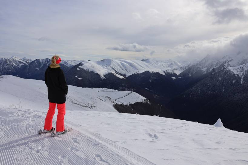 ski resort luchon