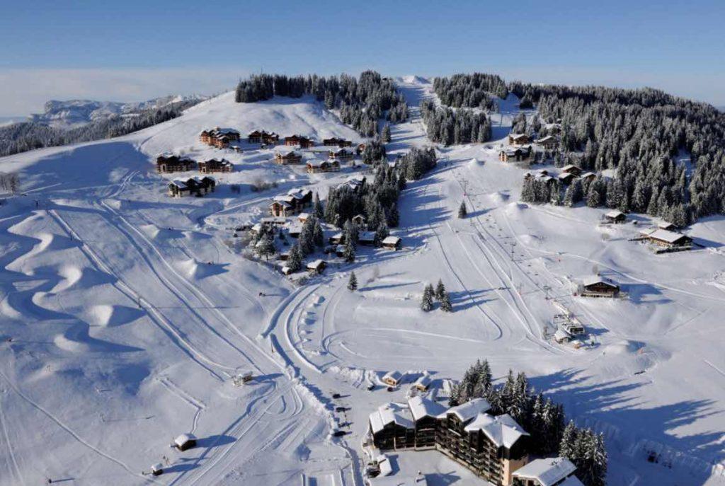 Estación de esquí Manigod