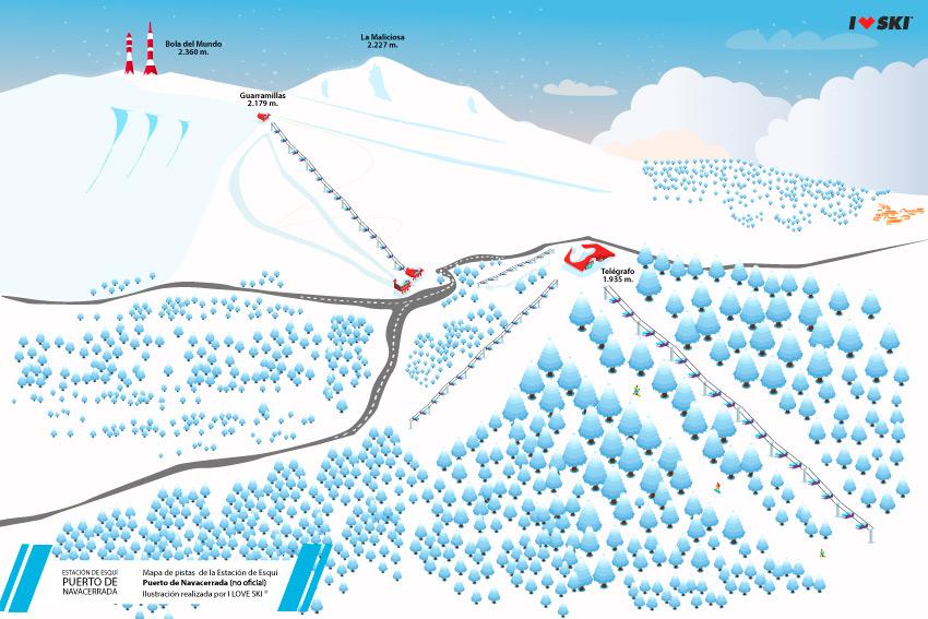 mapa-pistas-esqui-navacerrada