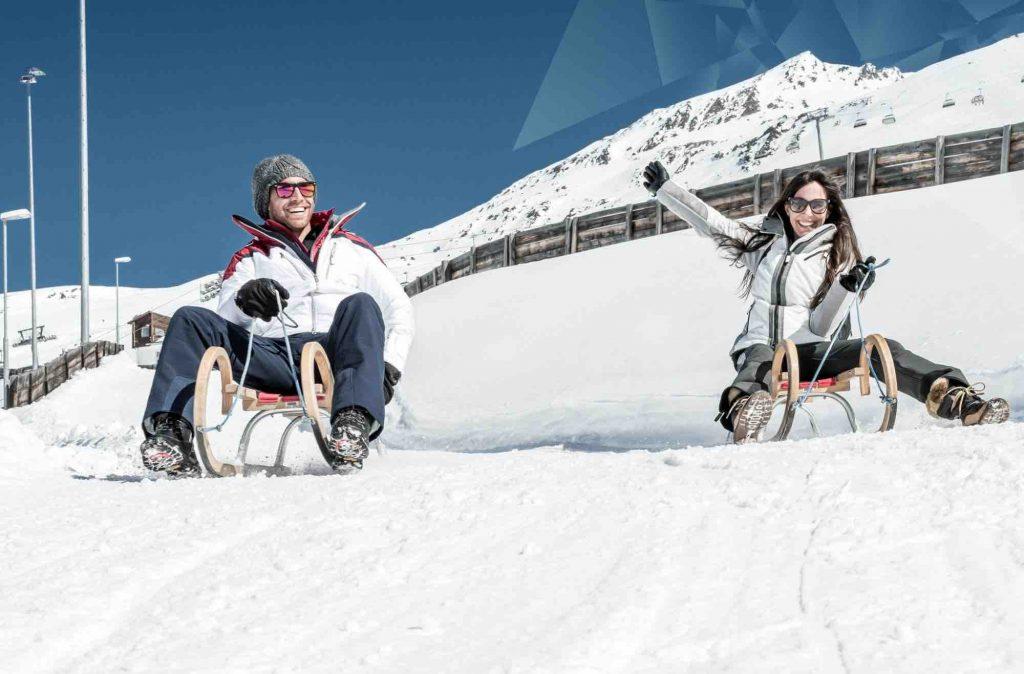 Trineos estación de esquí Obergurgl