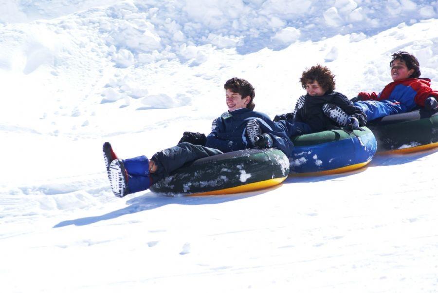 Snow Tubing estación de esquí Los Puquios