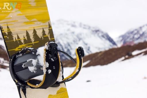 Snowboard estación de esquí Los Penitentes
