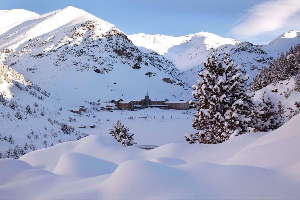 Vall de Núria nieve