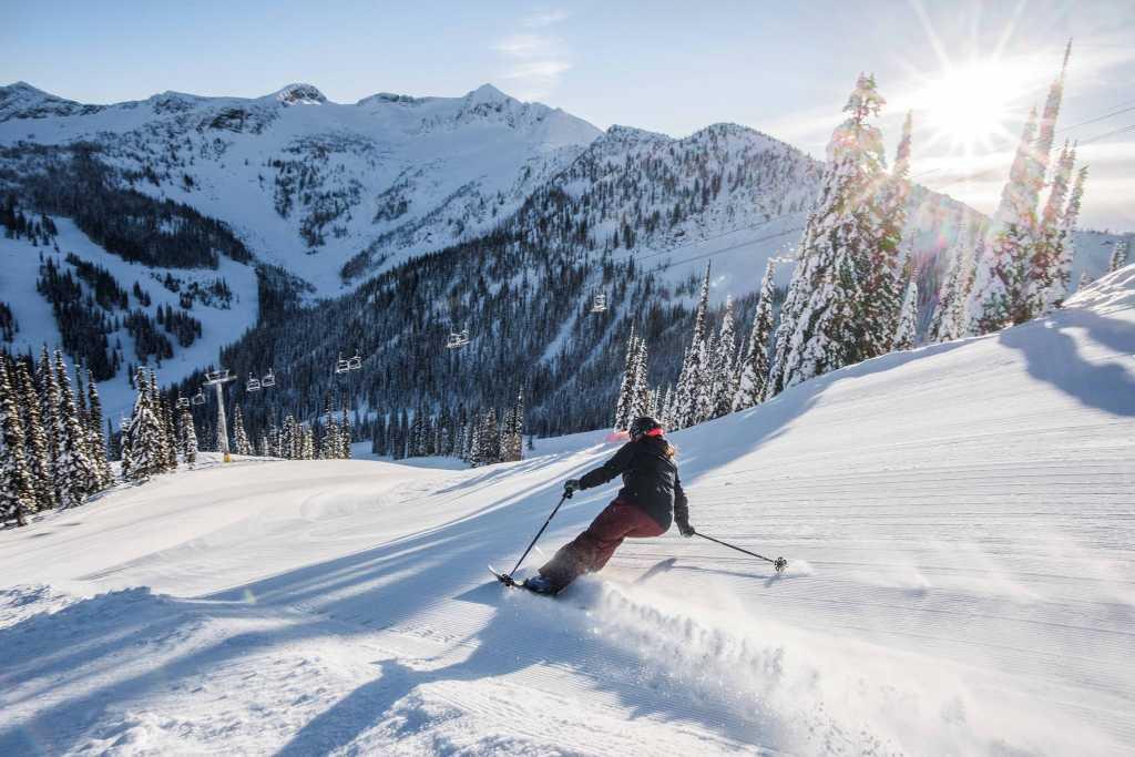 White water ski resort