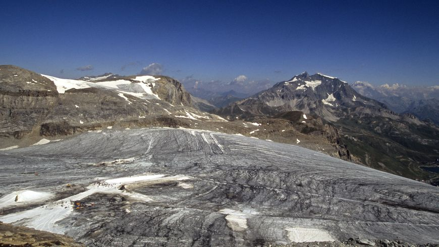 glaciar tignes