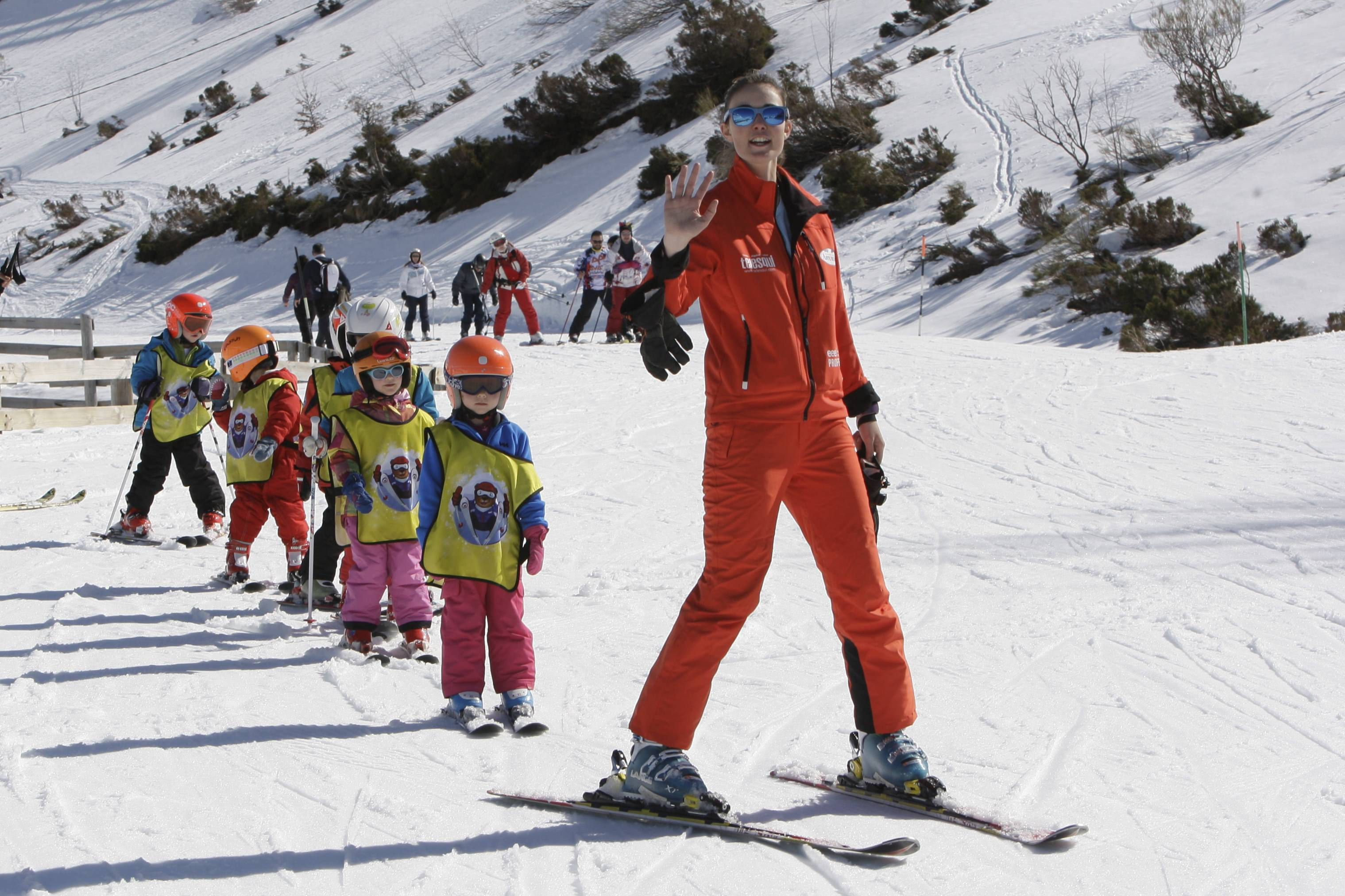 esquí fuentes de invierno