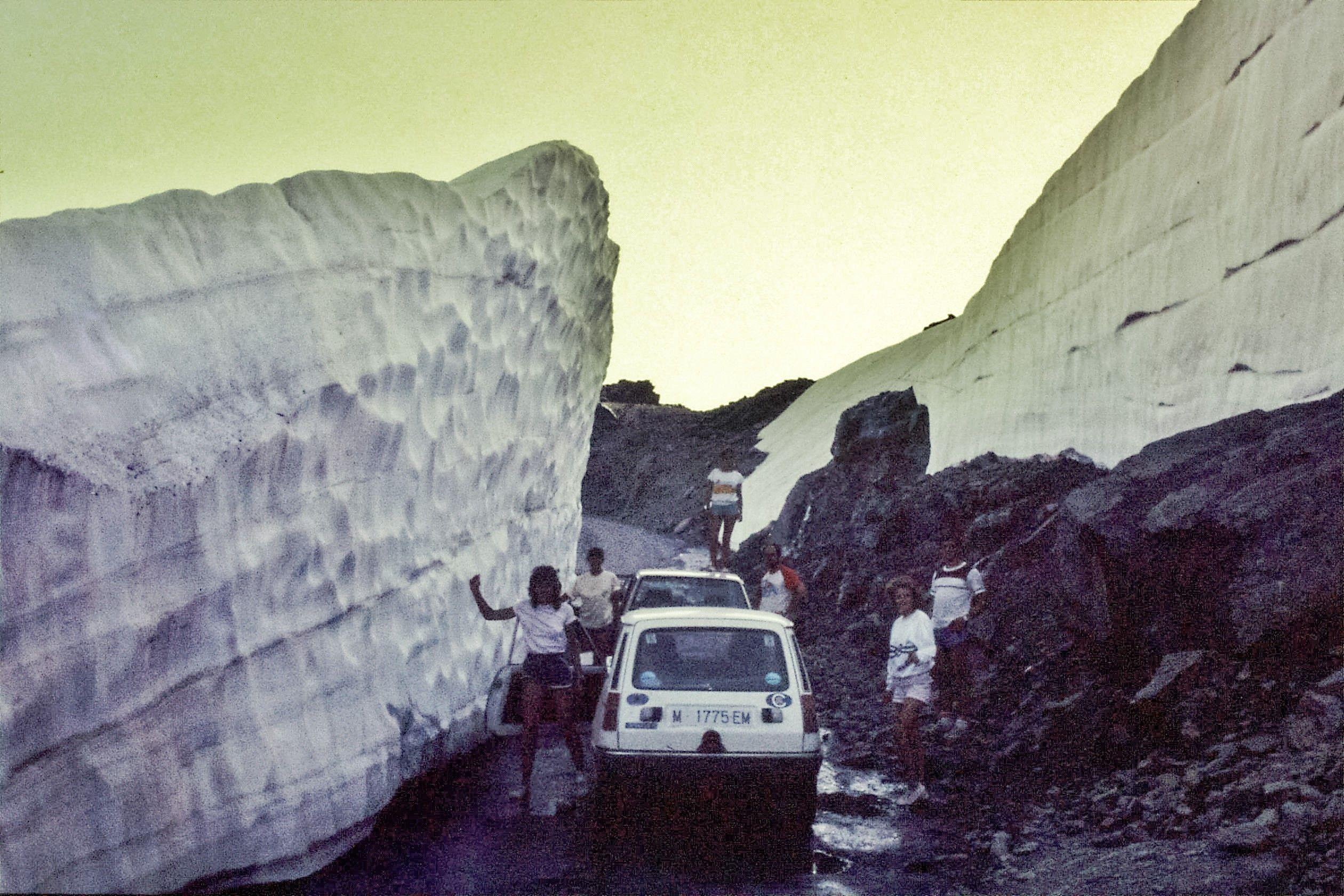 Glaciar Sierra Nevada