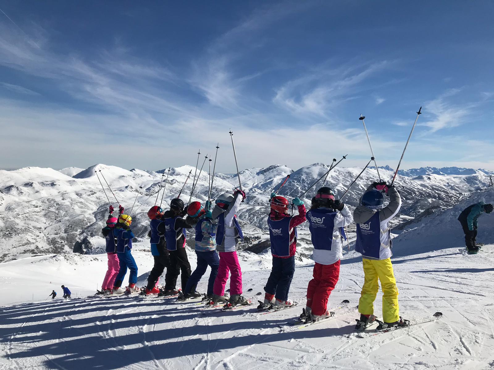 esquí fuentes