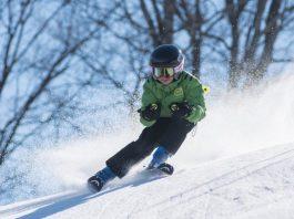 fuentes de invierno niño esquí