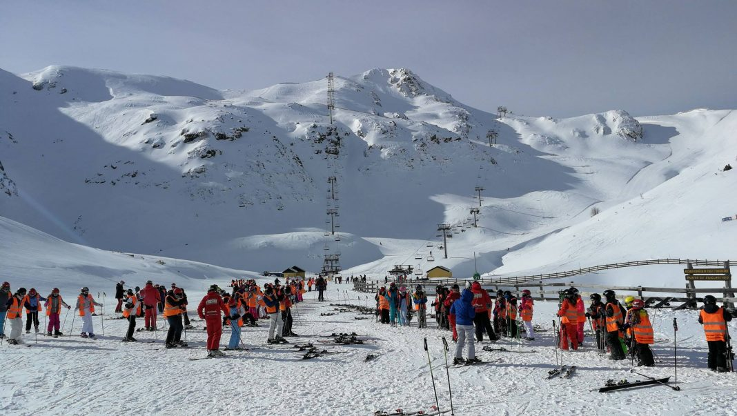 esquí fuentes invierno