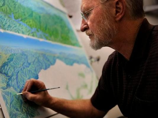 mapas de pistas Jim Niehues