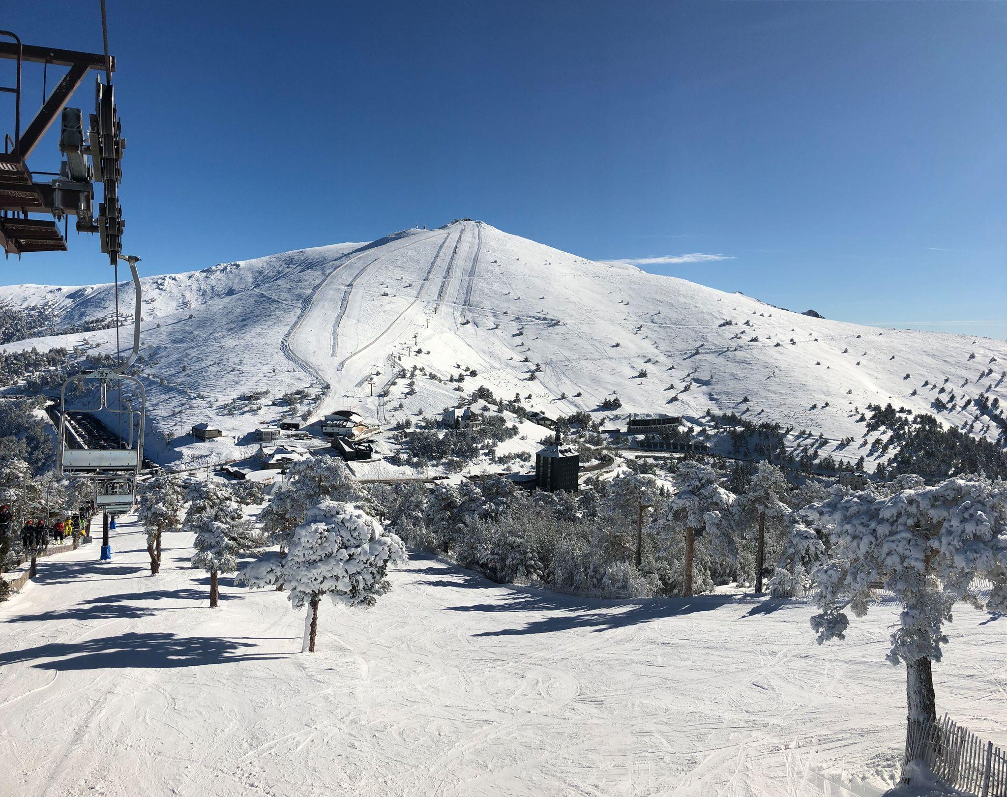 navacerrada esquí