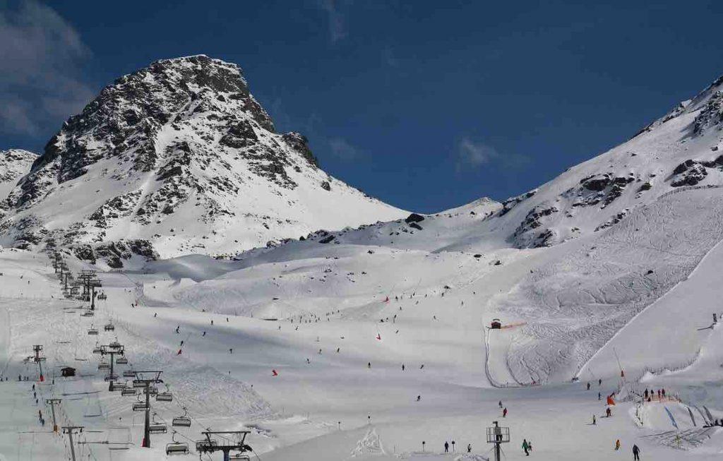 estación de esquí Autriche-Ischgl