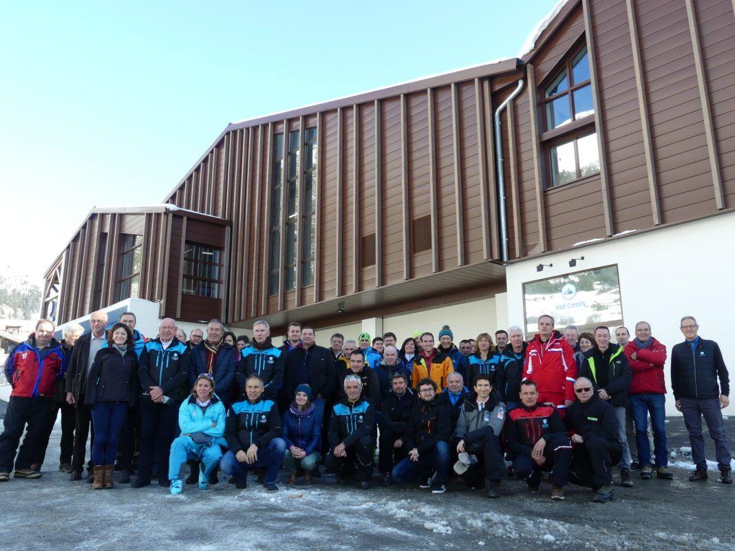 ValCenis Nuevo edificio de recepción en Val Cenis