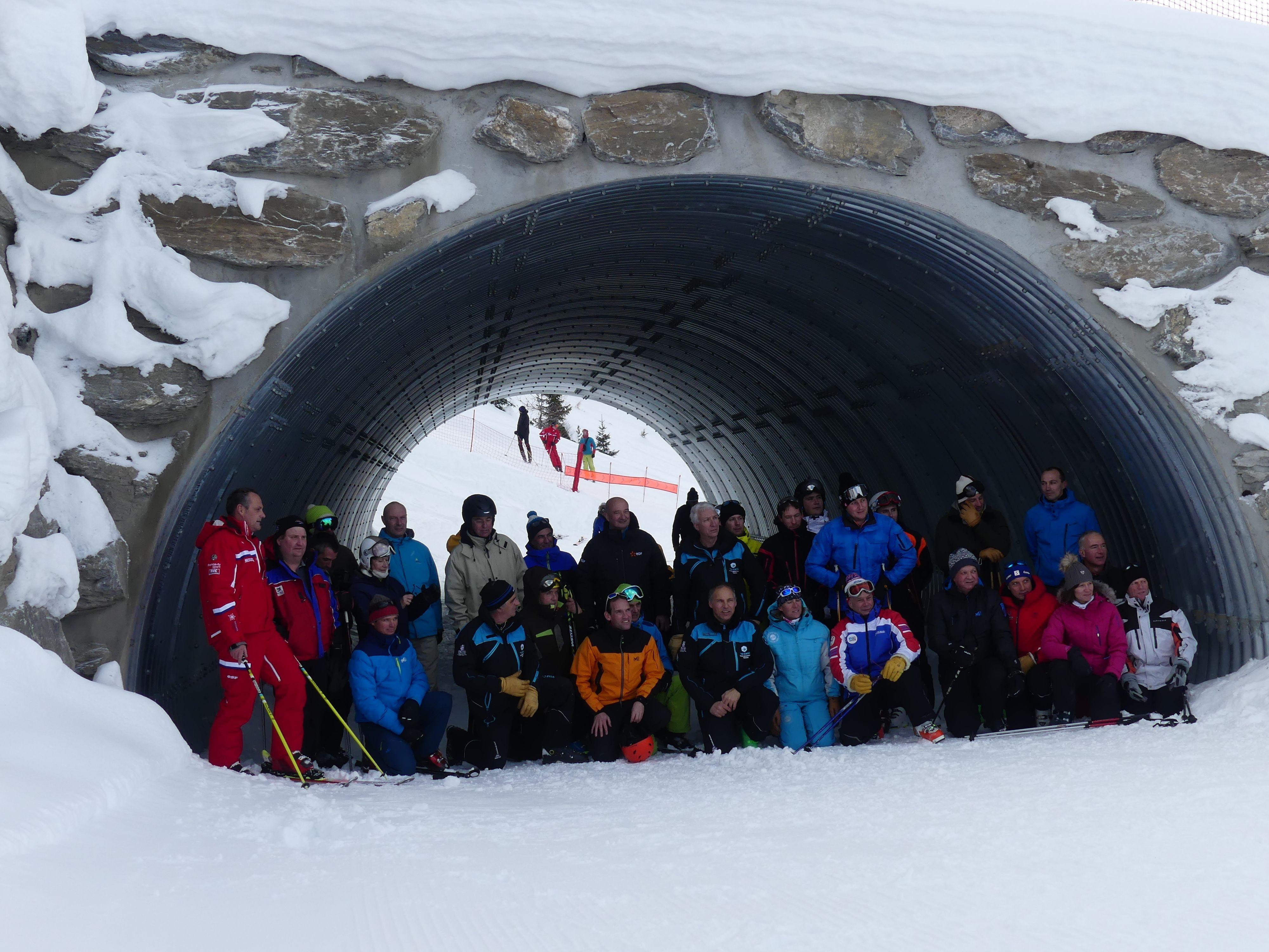 Nuevo túnel en la estación de Val Cenis