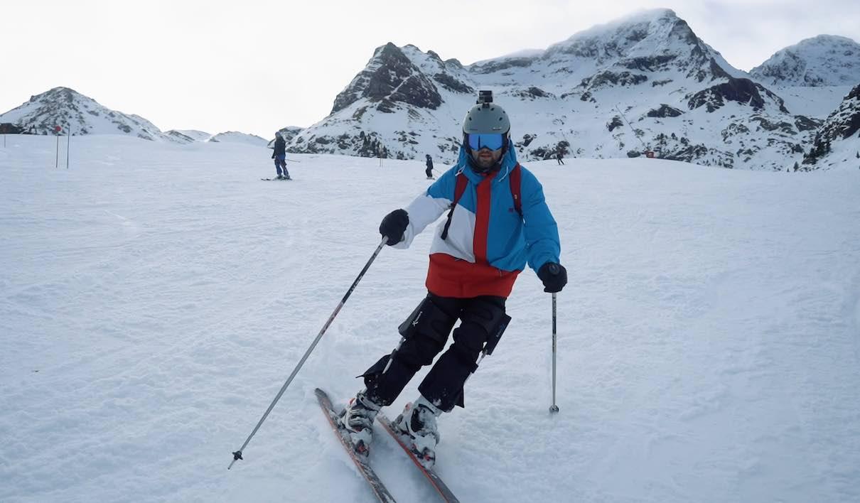 exoesqueleto esquí