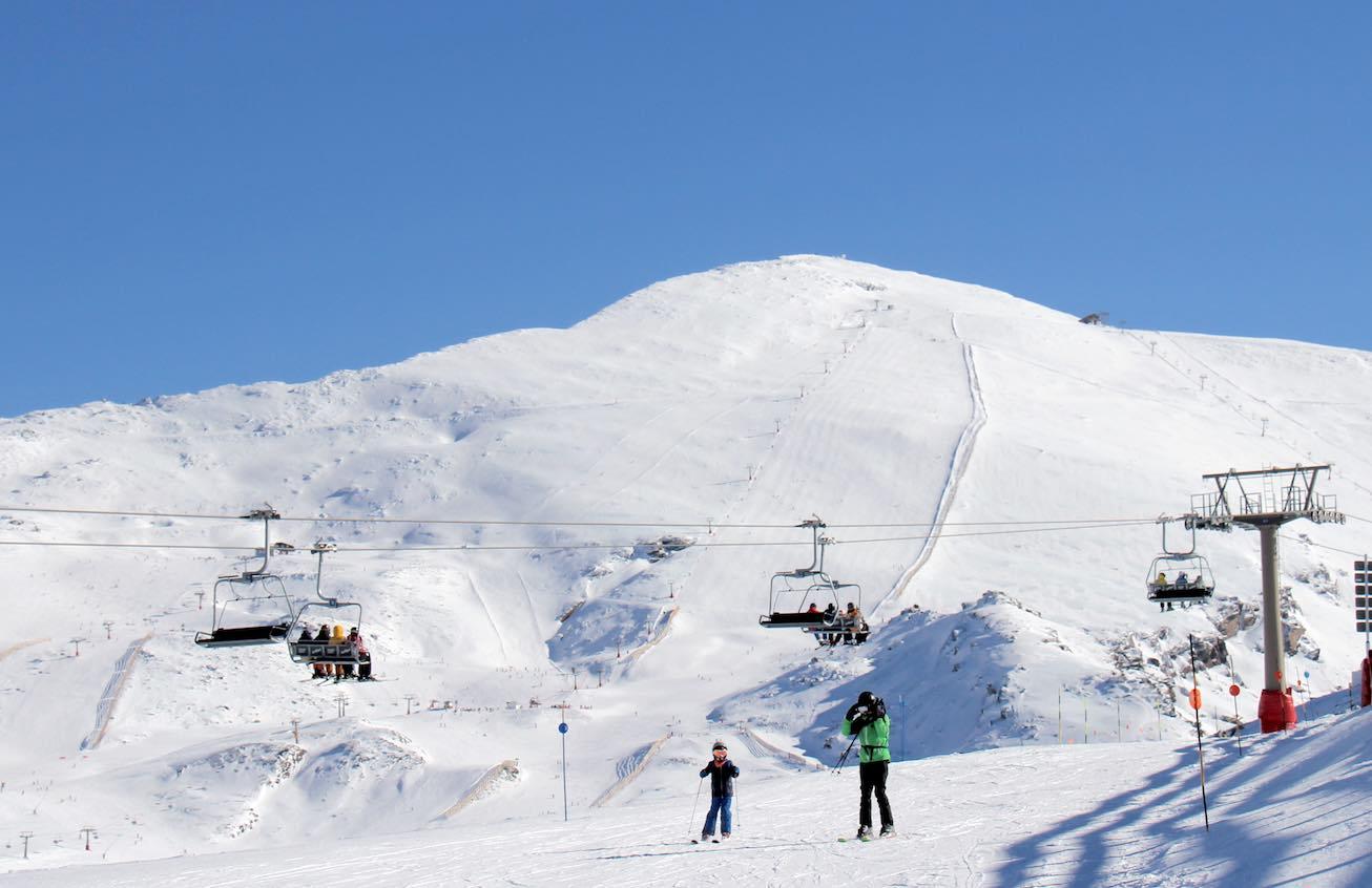 esqui Sierra nevada