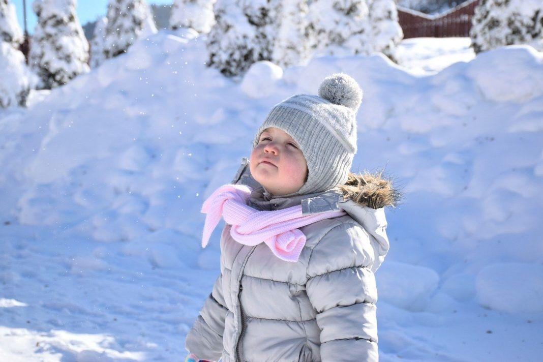 bebé nieve