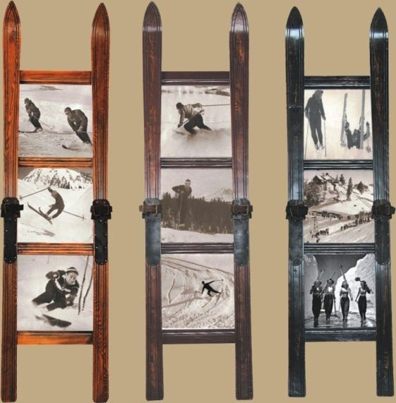 reutilizar esquís