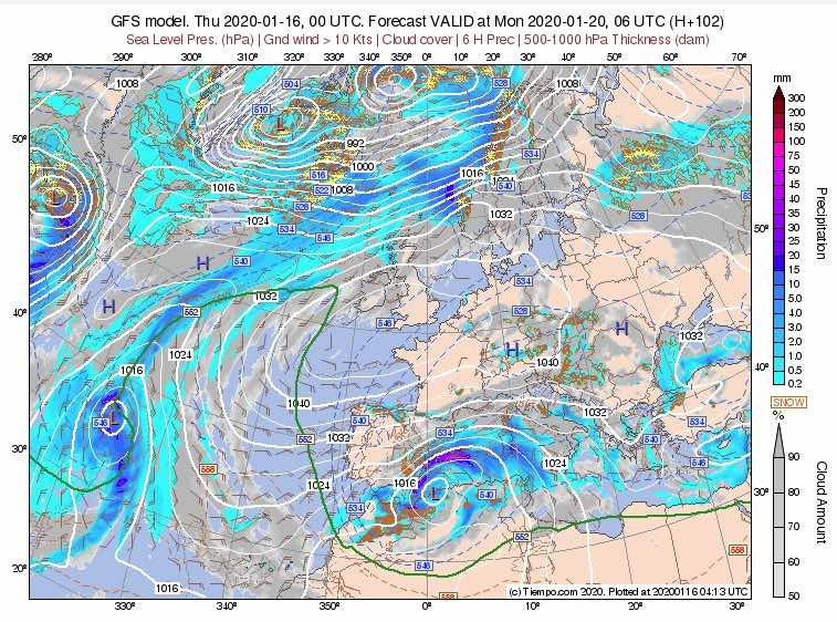 vuelve la nieve europa