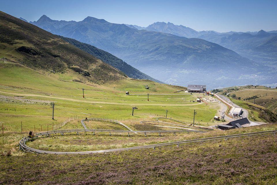 """Circuito de """"Mountain Luge"""""""