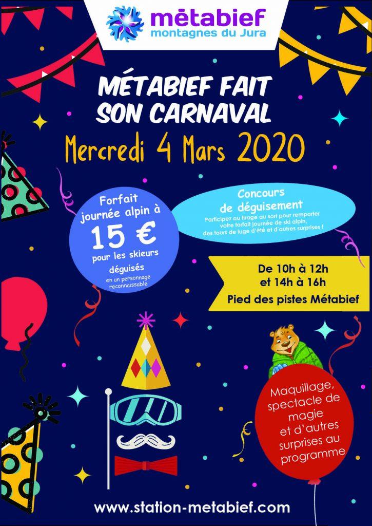 Carnival in Métabief