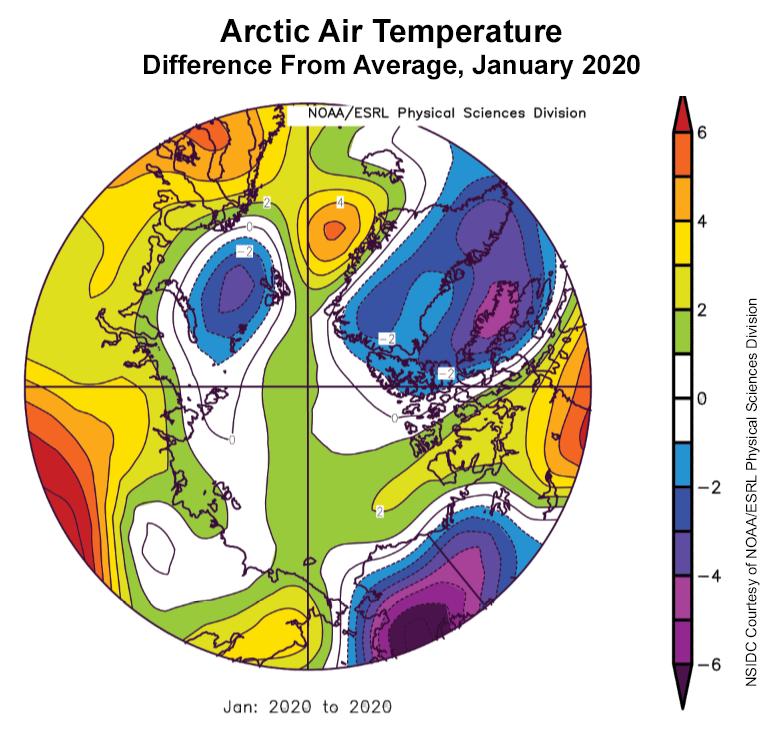 ártico hielo globo terráqueo