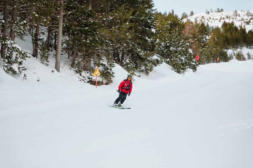 Esquiador en Vallnord-Pal Arinsal
