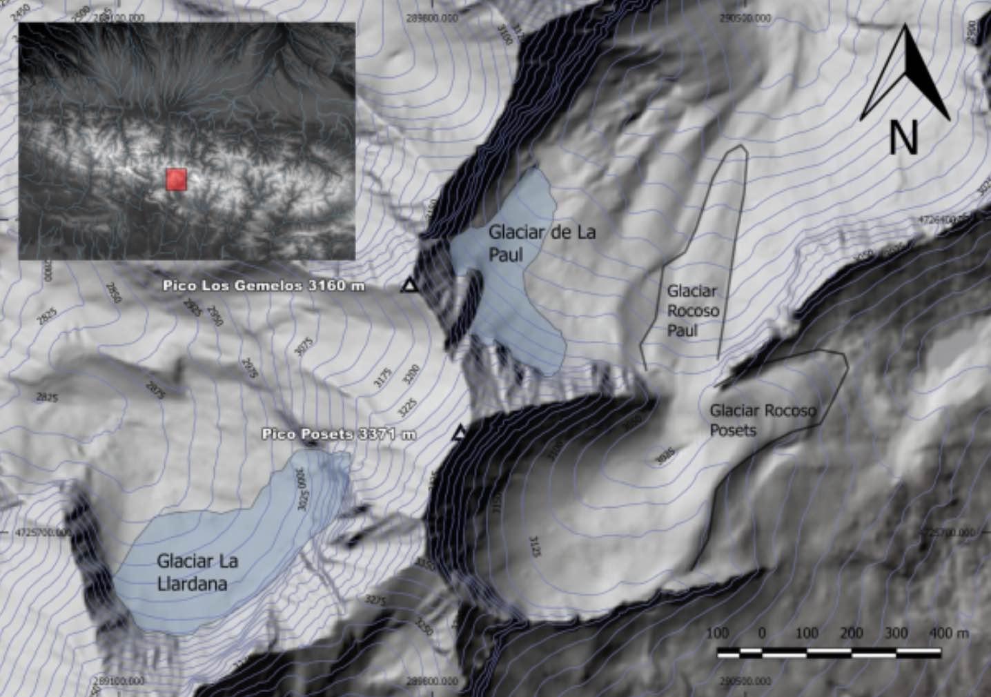 glaciar posets