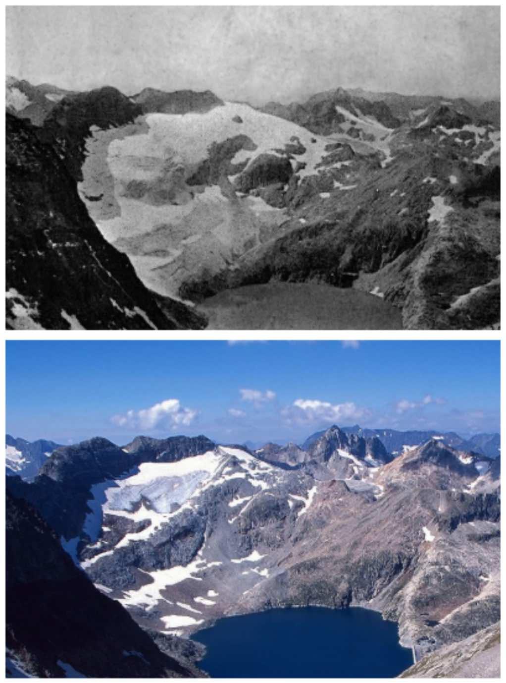 Glaciar de la Basque