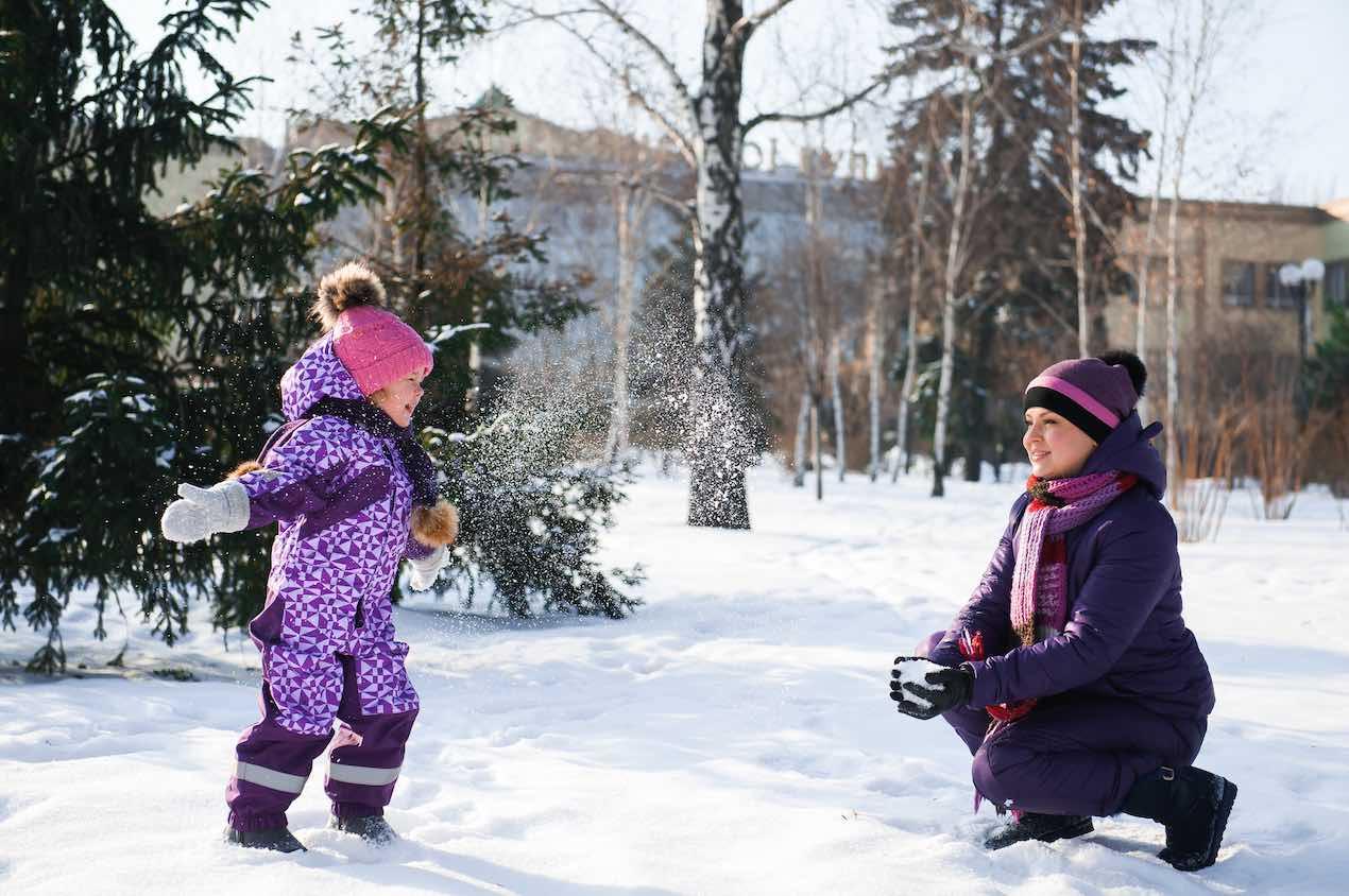 esqui familia