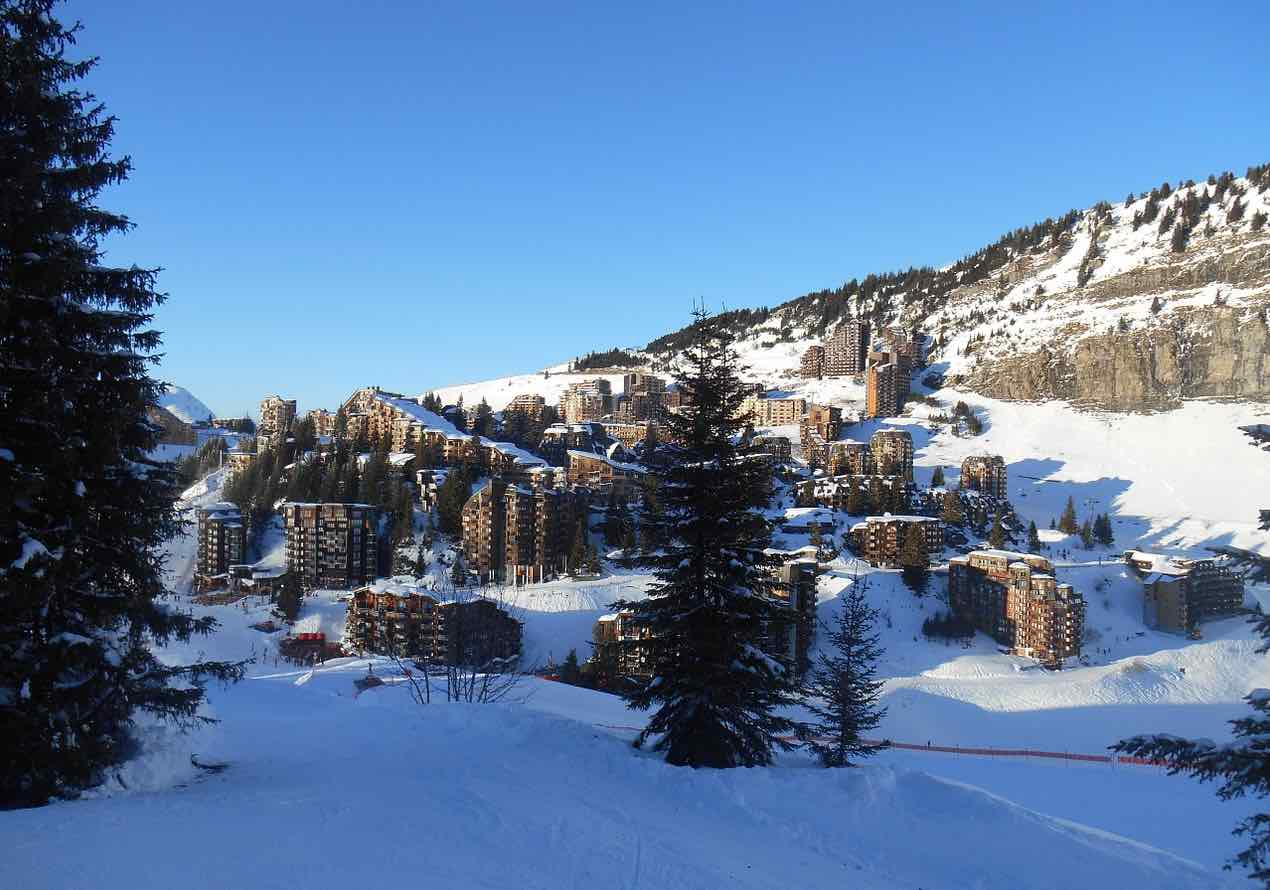 Station de ski d'Avoriaz 1800