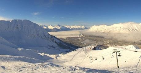 Pistas estación de esquí Alyeska