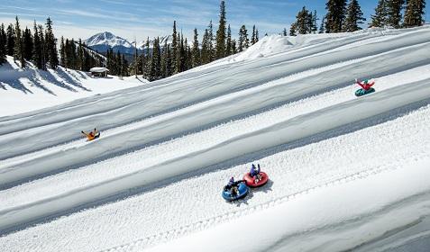 Snow tubing Keystone