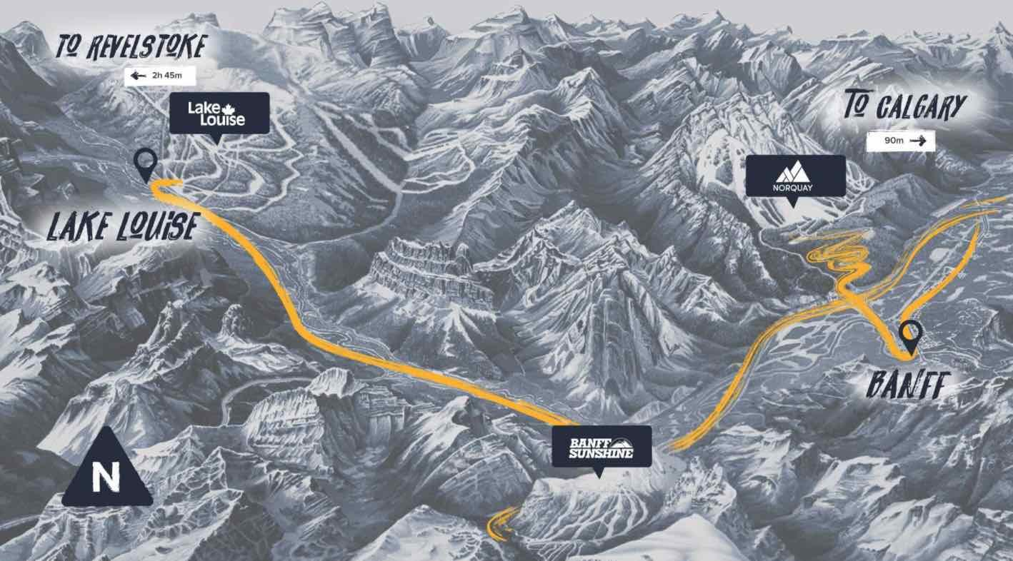 banff-ski-tracks