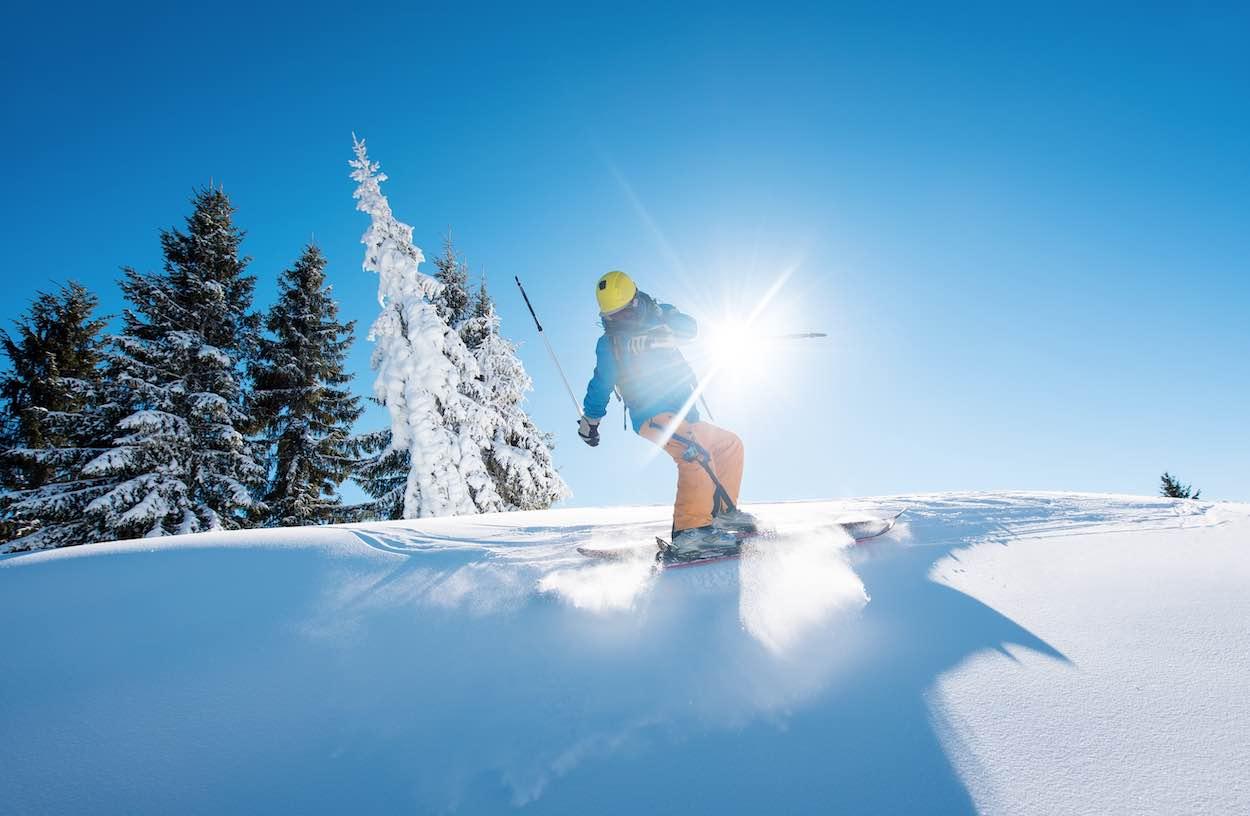 estaciones esquí américa del norte